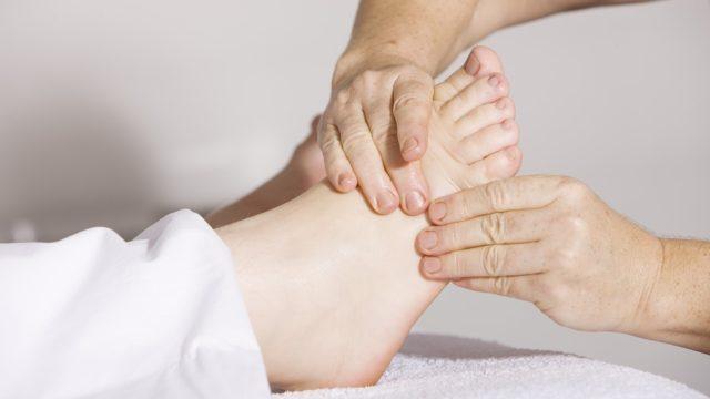 アキレス腱断裂術後の可動域改善